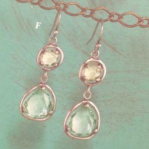 Silpada Seychelles Sterling earrings